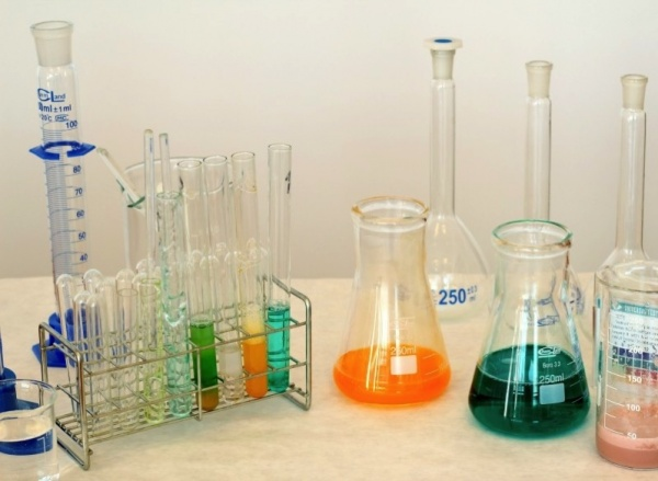 Laboratory chemistry chemical compounds experiment